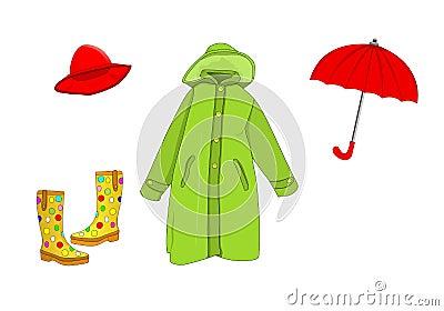 Raining time, cdr vector