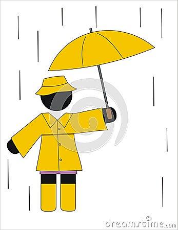 Rainning day