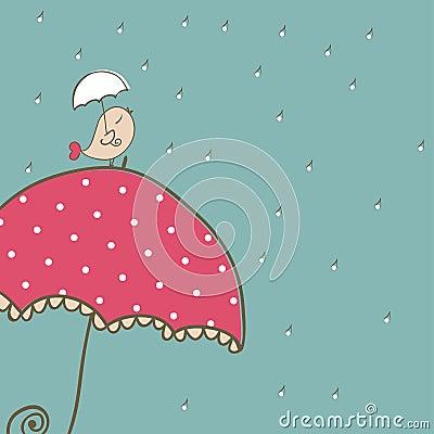 Rainy Card