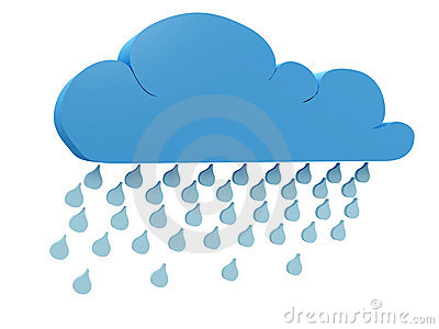 Rainy cloud