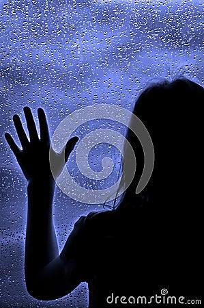 Free Rainy Day At The Window Royalty Free Stock Photos - 9006008