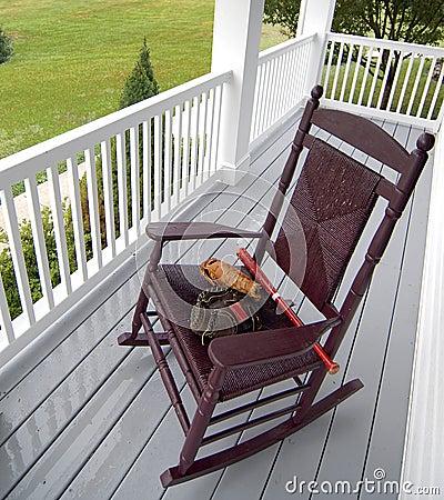 Rainy Day Porch