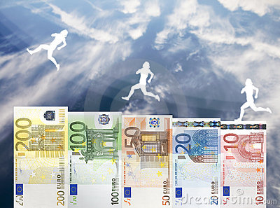 Raise of Euro money value