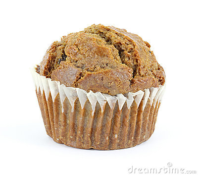 Raisin bran muffin