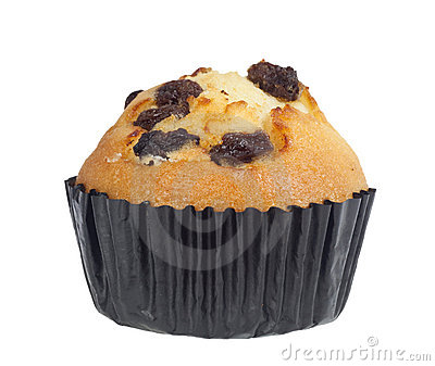 Raisin muffin