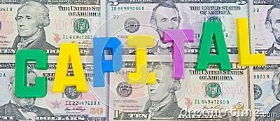 Raising capital.