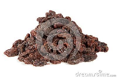 Raisins pile