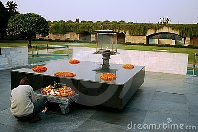 Raj Ghat, Delhi Editorial Stock Image