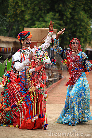 Rajasthani dance Editorial Photography