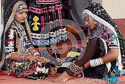 Rajasthani Folk Artist Editorial Image