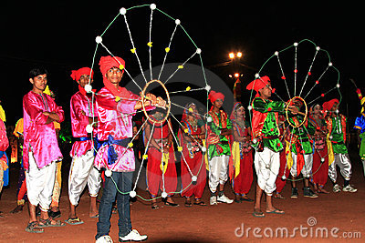 Rajasthani performers Editorial Image