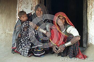 Rajasthani village life 6 Editorial Stock Photo