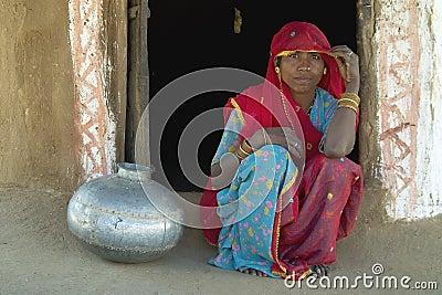 Rajasthani village life 7 Editorial Photography