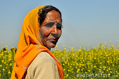 Rajasthani woman Editorial Photography