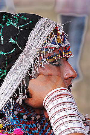 Rajasthani Woman Editorial Stock Image
