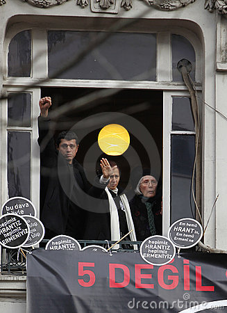 Rakel Dink in Hrant Dink Commemoration Editorial Photo