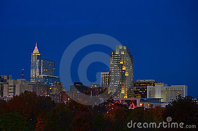 Raleigh After Dark