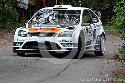 Rally Editorial Stock Photo
