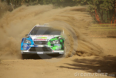 Rally acropolis Editorial Stock Image