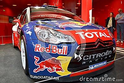 Rally car Editorial Photo