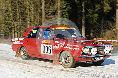 Rally Car Editorial Stock Photo