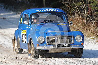 Rally Car Editorial Photography