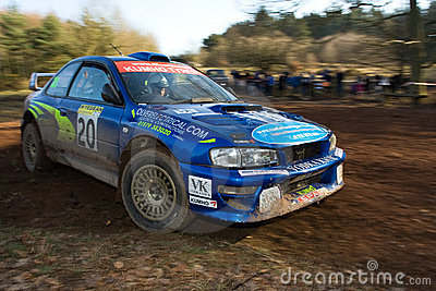 Rally Car Editorial Image