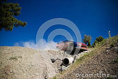 Rally car WRC