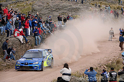 Rally competition Editorial Stock Image
