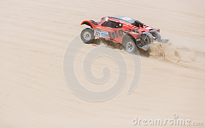 Rally Dakar 2013 Editorial Stock Image