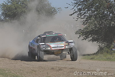 Rally Dakar Argentina Chile 2009 Editorial Stock Image