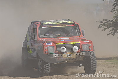 Rally Dakar Argentina Chile 2009 Editorial Stock Photo