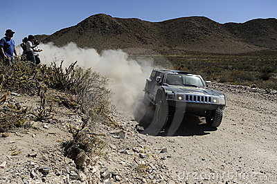 Rally DAKAR Argentina - Chile 2010 Royalty Free Stock Photo - Image: 12635745