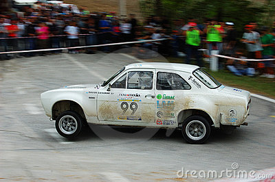 Rally Legend 2009 Editorial Stock Image