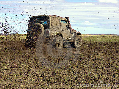 Rally in mud