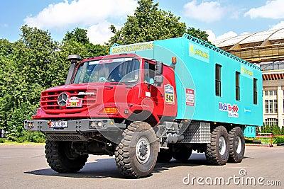 Rally Silkway 2012 Editorial Stock Image