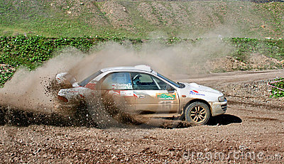 Rally Southern Ural 2008 Editorial Stock Photo