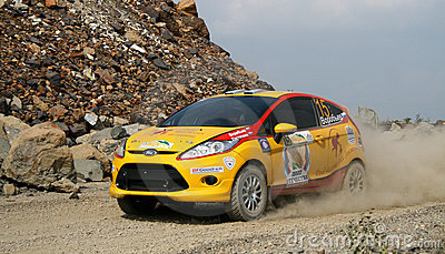 Rally Southern Ural 2010 Editorial Stock Photo