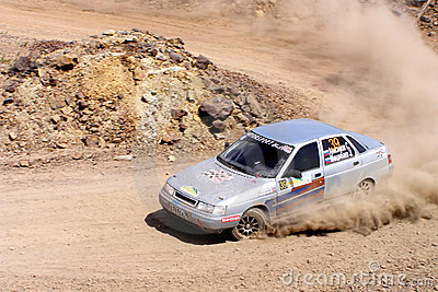 Rally Southern Ural 2011 Editorial Stock Photo