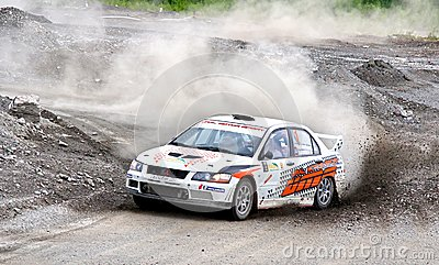 Rally Southern Ural 2012 Editorial Stock Photo