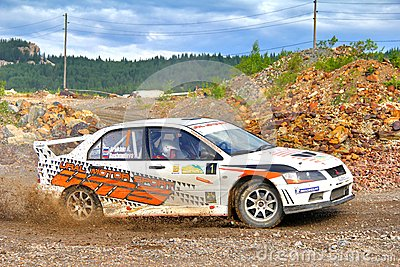 Rally Southern Ural 2012 Editorial Photo