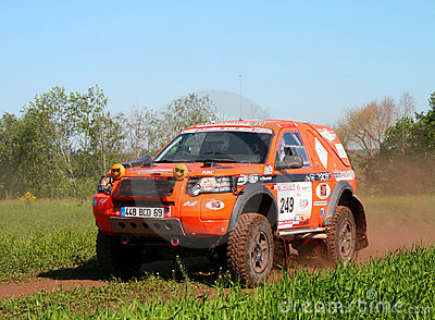 Rally Transorientale 2008 Editorial Photography