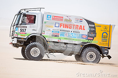Rally truck Editorial Photography