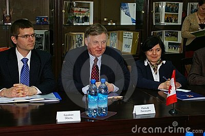 Ralph J. Lysyshyn in Sochi, Russland Redaktionelles Stockfotografie