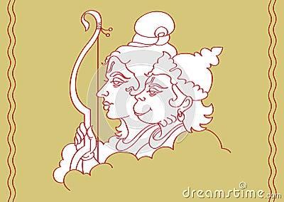 Ram & Hanuman