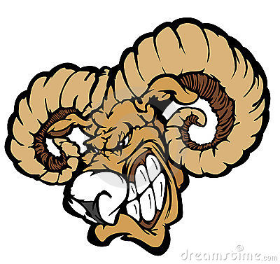 Free Ram Mascot Vector Logo Royalty Free Stock Images - 18839009