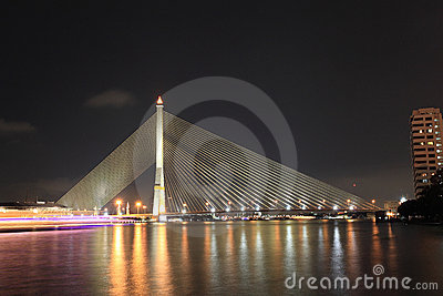 Rama 8 Bridge - Bangkok