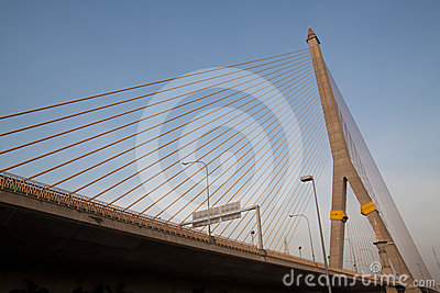Rama Bridge in Bangkok