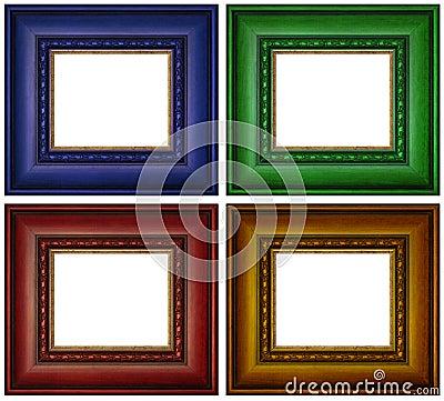 Rama kolorowy obrazek