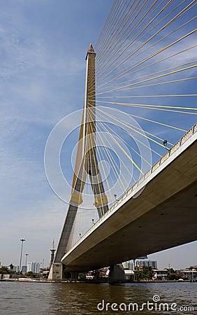 Free Rama VIII Bridge Stock Image - 22360411